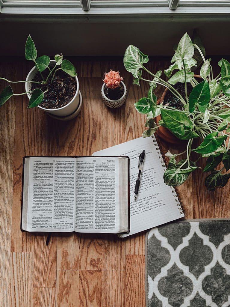 Ecrire la bible