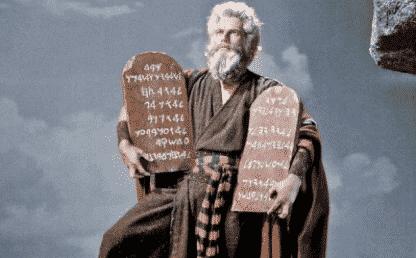 Moise et les 10 commandements
