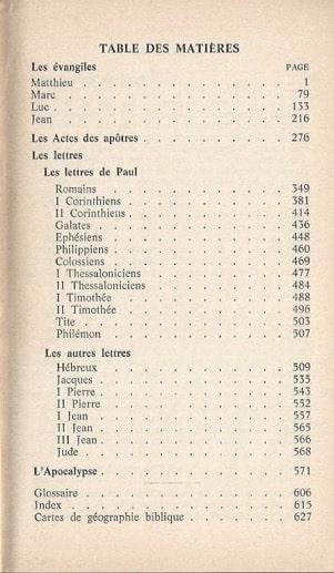 Composition du Nouveau Testament