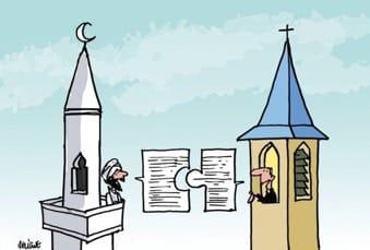 Dialogue entre musulman et chrétien