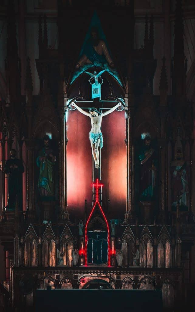 Jésus sur la croix